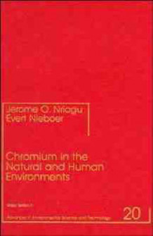 Chromium in the Natural and Human Environments (Innbundet)