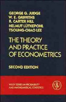 The Theory and Practice of Econometrics av George G. Judge, William E. Griffiths, R. Carter Hill, Helmut Lutkepohl og Tsoung-Chao Lee (Innbundet)