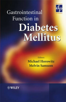 Gastrointestinal Function in Diabetes Mellitus (Innbundet)