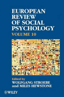 European Review of Social Psychology: v. 10 av Wolfgang Stroebe og Miles Hewstone (Heftet)