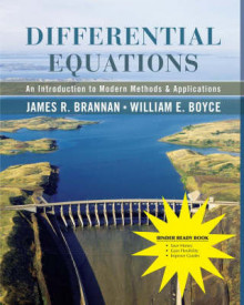 Differential Equations, Binder Ready Version av James R Brannan og William E Boyce (Perm)