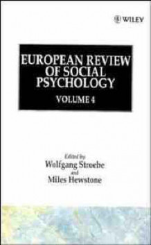European Review of Social Psychology: v. 4 av Wolfgang Stroebe (Innbundet)