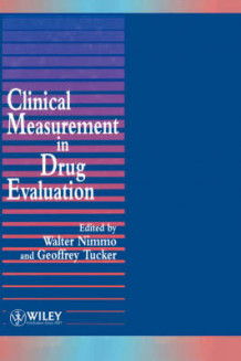 Clinical Measurement in Drug Evaluation (Innbundet)
