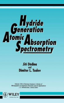 Hydride Generation Atomic Absorption Spectrometry av Jiri Dedina og Dimiter L. Tsalev (Innbundet)