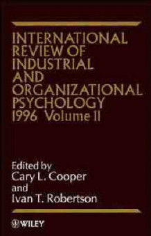 International Review of Industrial and Organizational Psychology 1996 av C. L. Cooper (Innbundet)