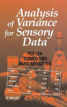 Analysis of Variance for Sensory Data av Per Lea, Tormod Naes, Marit Rodbotten og Norwegian Food Research Institute (Innbundet)