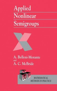 Applied Nonlinear Semigroups av Aldo Belleni-Morante og A. C. McBride (Innbundet)