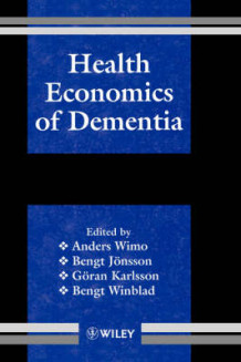 Health Economics of Dementia (Innbundet)