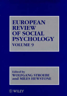European Review of Social Psychology: Vol.9 av W. Stroebe (Innbundet)
