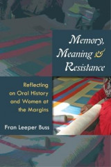 Omslag - Memory, Meaning, and Resistance