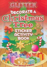 Omslag - Glitter Decorate a Christmas Tree, Sticker Activity Book