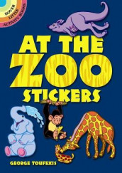 At the Zoo Stickers av George Toufexis (Klistremerker)