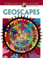 Creative Haven Geoscapes Coloring Book av David Hop (Heftet)