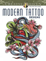 Omslag - Creative Haven Modern Tattoo Designs Coloring Book