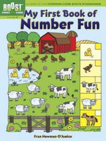 BOOST My First Book of Number Fun av Fran Newman-D'Amico (Heftet)