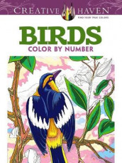 Creative Haven Birds Color by Number Coloring Book av George Toufexis (Heftet)