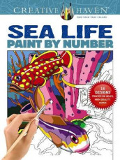 Creative Haven Sea Life Paint by Number av George Toufexis (Heftet)