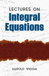 Omslag - Lectures on Integral Equations