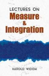 Omslag - Lectures on Measure and Integration