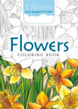 Omslag - Bliss Flowers Coloring Book