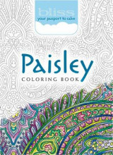 Omslag - Bliss Paisley Coloring Book