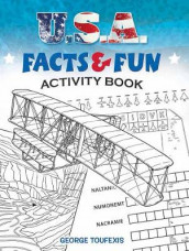 U.S.A. Facts & Fun Activity Book av George Toufexis (Heftet)