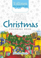 Omslag - BLISS Christmas Coloring Book