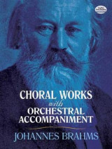 Omslag - Choral Works with Orchestral Accompaniment