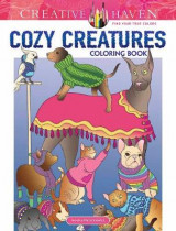 Omslag - Creative Haven Cozy Creatures Coloring Book