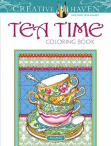 Omslag - Creative Haven Teatime Coloring Book