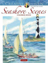 Omslag - Creative Haven Seashore Scenes Coloring Book