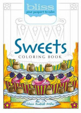 Omslag - BLISS Sweets Coloring Book