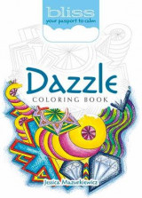 Omslag - BLISS Dazzle Coloring Book