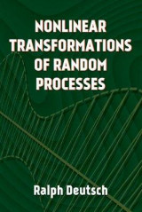 Omslag - Nonlinear Transformations of Random Processes