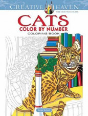 Creative Haven Cats Color by Number Coloring Book av George Toufexis (Heftet)