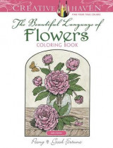Omslag - Creative Haven The Beautiful Language of Flowers Coloring Book