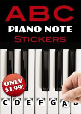 Omslag - A B C Piano Note Stickers