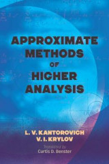 Omslag - Approximate Methods of Higher Analysis