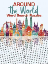 Omslag - Around the World Word Search Puzzles