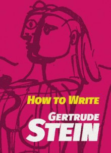 How to Write av Gertrude Stein (Heftet)