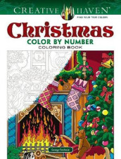 Creative Haven Christmas Color by Number av George Toufexis (Heftet)