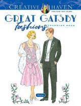 Omslag - Creative Haven Great Gatsby Fashions Coloring Book