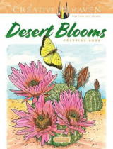 Omslag - Creative Haven Desert Blooms Coloring Book