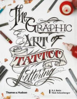 Omslag - The Graphic Art of Tattoo Lettering