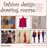 Omslag - Fashion design drawing course