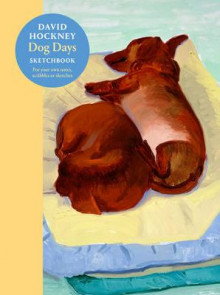 David Hockney Dog Days: Sketchbook av David Hockney (Heftet)