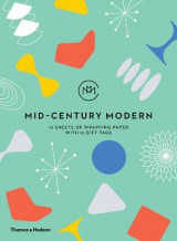 Omslag - Mid-Century Modern: Gift Wrapping Paper Book