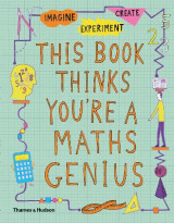 Omslag - This Book Thinks You're a Maths Genius