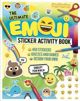 Omslag - The Ultimate Emoji Sticker Activity Book