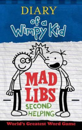 Omslag - Diary of a Wimpy Kid Mad Libs: Second Helping